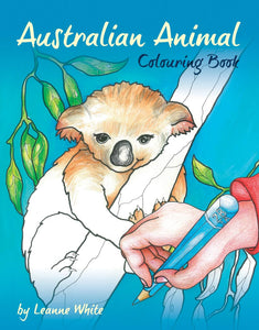 Children's Book - Aussie Animal Colouring Book