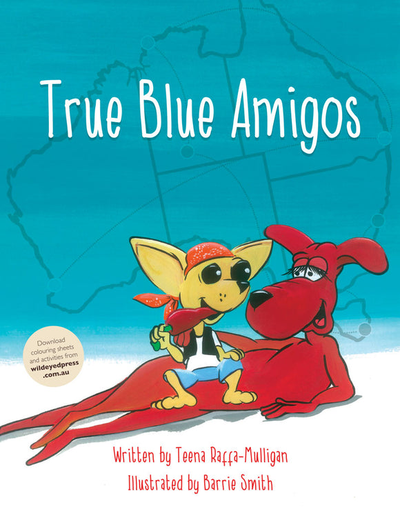 Children's Book - True Blue Amigos