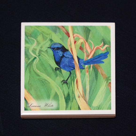 Tile Coaster - Wren