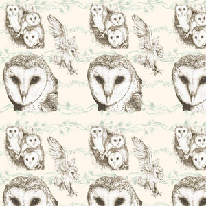 Giftwrap - A Barn Full of Owls