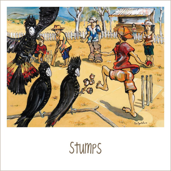 Greeting Card - Stumps