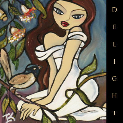 Greeting Card - Delight
