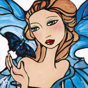 Greeting Card - Butterfly Blue