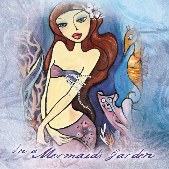 Greeting Card - In A Mermaid's Garden