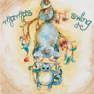 Greeting Card - Mama's Swing