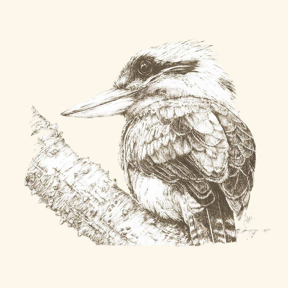 Greeting Card - Laughing Kookaburra