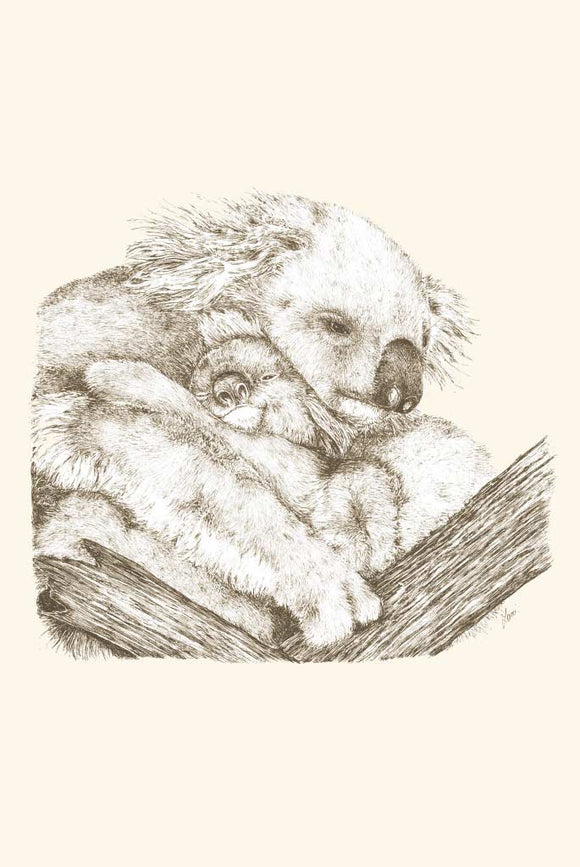 Greeting Card - Mother Koala