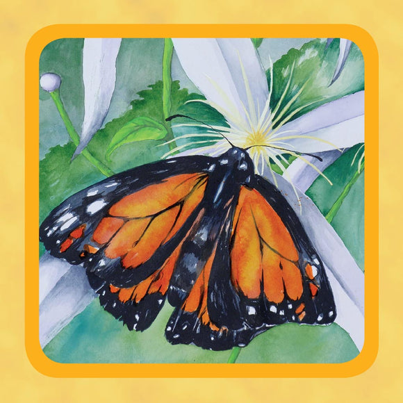 Square Tin - Monarch Butterfly
