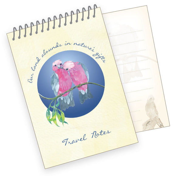 A7 Travel Notes Pad - Galah