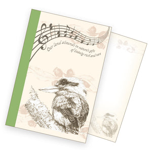 A6 Notebook - Laughing Kookaburra
