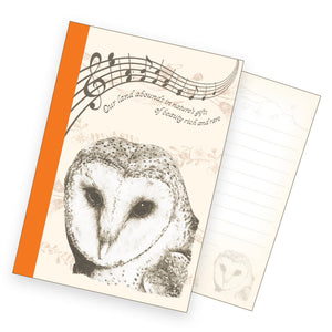 A6 Notebook - Common Barn Owl