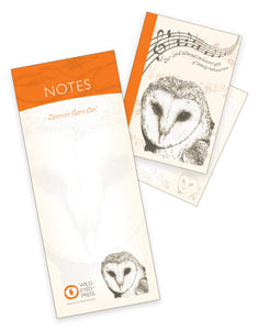 A7 Notebook / Pad - Common Barn Owl