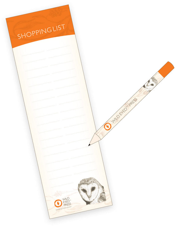 Shopping List - Common Barn Owl