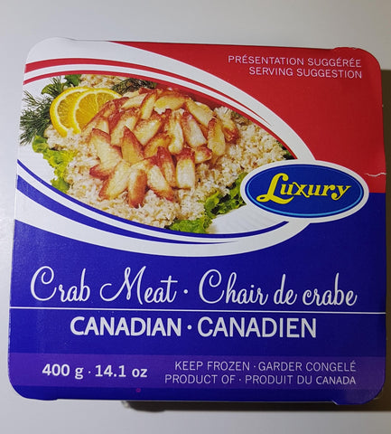 ROCK CRAB COMBO MEAT - CANADA LUXURY BRAND