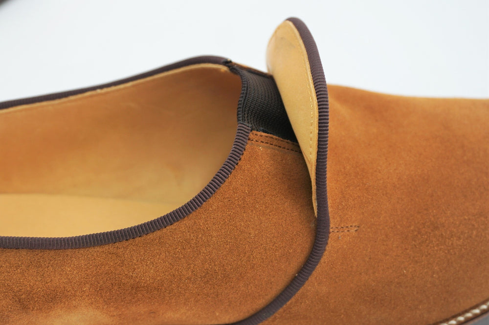 Load image into Gallery viewer, MIYAGIKOGYO FOR  WOMEN / MKFW-005 / スリッポン / col,LT-BROWN.SUEDE / 宮城興業㈱製