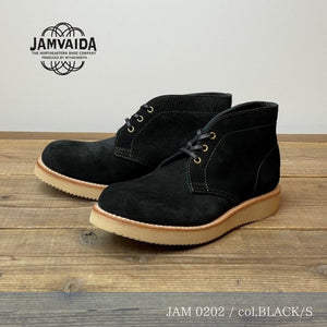 Load image into Gallery viewer, JAMVAIDA (ヤンバイダ) / JAM 0202 / チャッカブーツ / col,BLACK SUEDE / 宮城興業㈱製