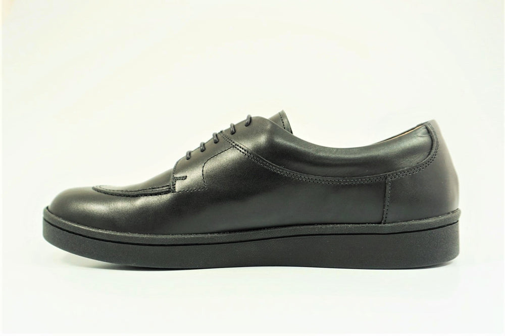 Load image into Gallery viewer, My えむわい / LSN-008 Apron Front Derby col,BLACK / 宮城興業㈱製