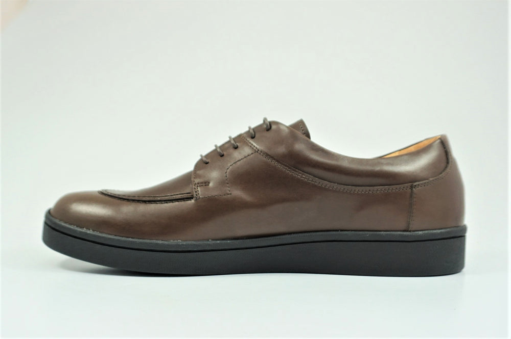 My えむわい / LSN-008 Apron Front Derby col,DK-BROWN / 宮城興業㈱製