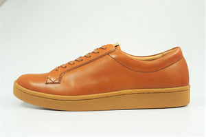 My えむわい / LSN-009 Lace UP Low-Cut col,CAMEL / 宮城興業㈱製