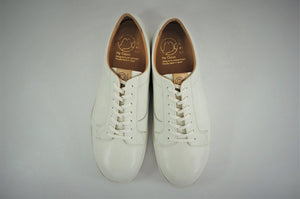 My えむわい / LSN-009 Lace UP Low-Cut col,WHITE / 宮城興業㈱製