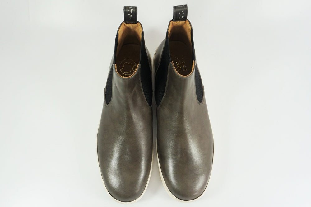 Load image into Gallery viewer, My えむわい / LSN-010 Chelsea Plain Boots col,GRAY / 宮城興業㈱製