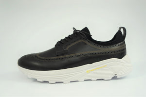 Load image into Gallery viewer, My えむわい / LSN-100 LASER-Long Wing Blucher col,BLACK / 宮城興業㈱製