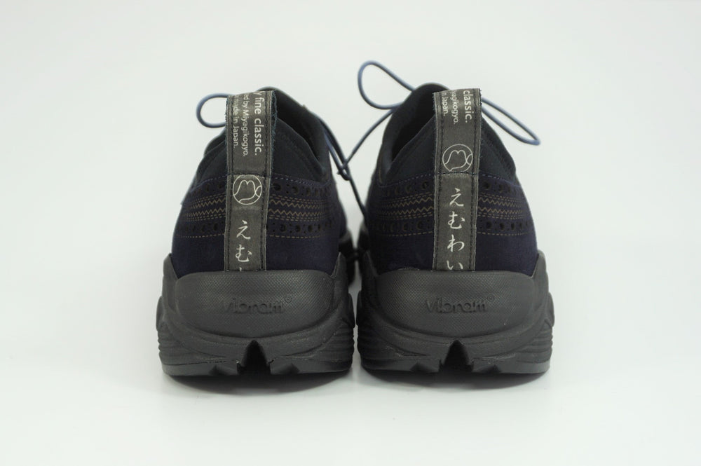 Load image into Gallery viewer, My えむわい / LSN-100 LASER-Long Wing Blucher col,NAVY SUEDE / 宮城興業㈱製