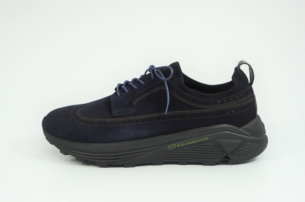 My えむわい / LSN-100 LASER-Long Wing Blucher col,NAVY SUEDE / 宮城興業㈱製