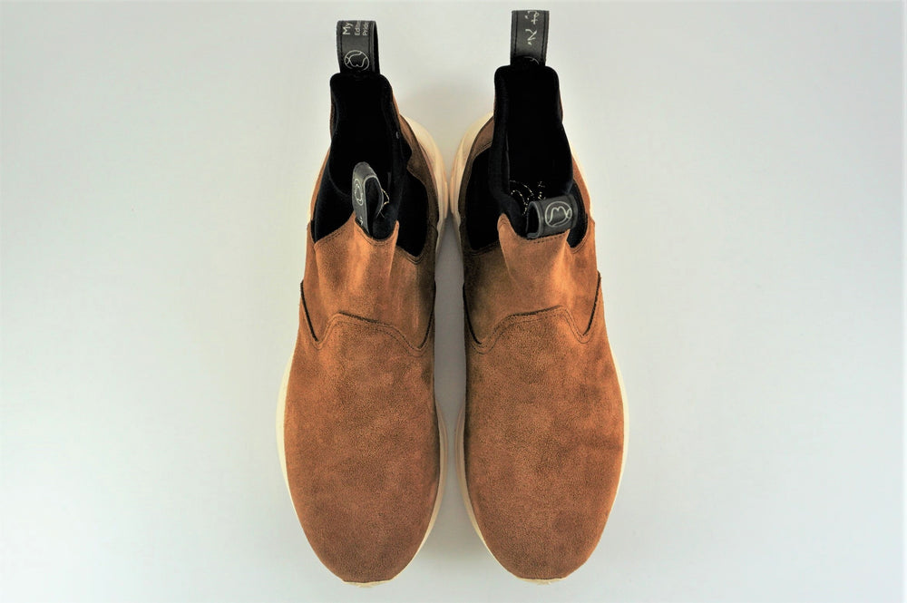 Load image into Gallery viewer, My えむわい / LSN-103 Side Gore Boots col,CAMEL SUEDE / 宮城興業㈱製