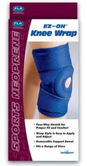 FLA Sport EZ-ON Neoprene Knee Wrap, Open Patella