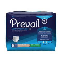 Adult Absorbent Underwear Prevail® Daily Underwear Pull On Large / X-Large Disposable Heavy Absorbency