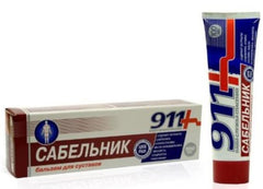 911 GEL BALM SABELNIK FOR JOINTS, 3.38 OZ/ 100 ML