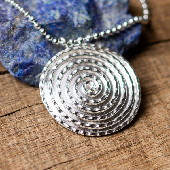 Curves + Spirals Necklace