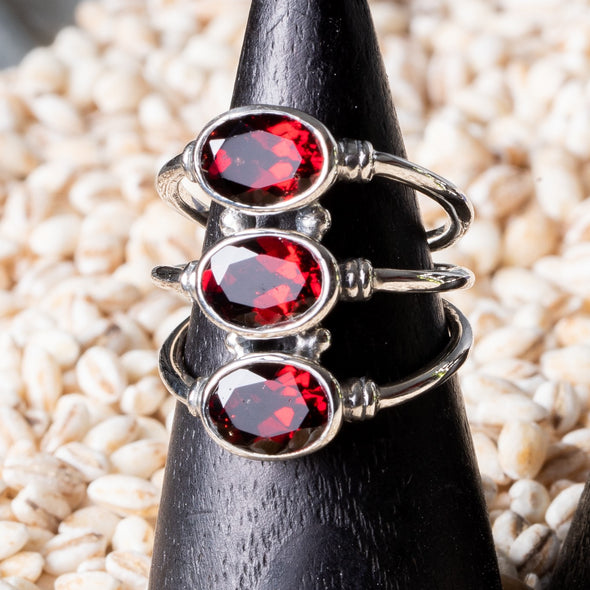 3-Stack Stone Ring