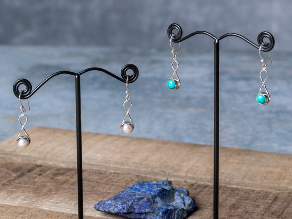 Infinity Stone Earrings