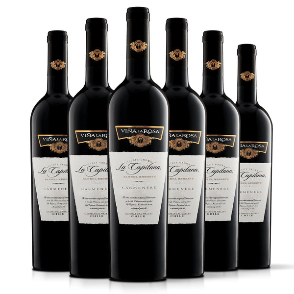 La Capitana Carmenere (6 botellas 750ml)