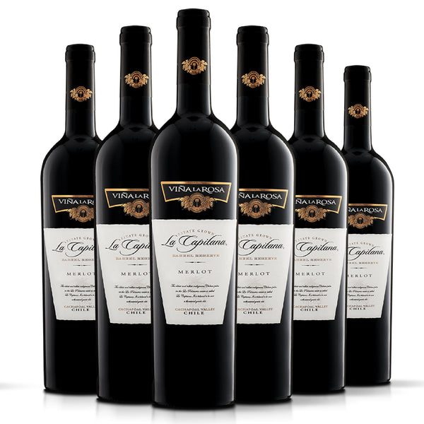 La Capitana Merlot (6 botellas 750ml)