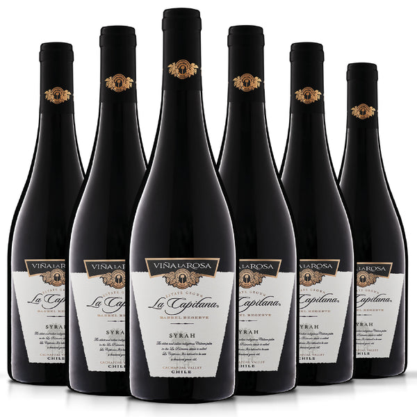 La Capitana Syrah (6 botellas 750ml)