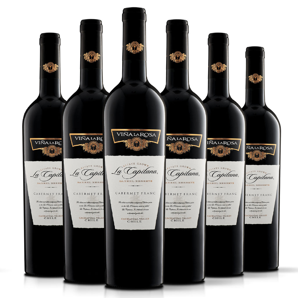 La Capitana Cabernet Franc (6 botellas 750ml)