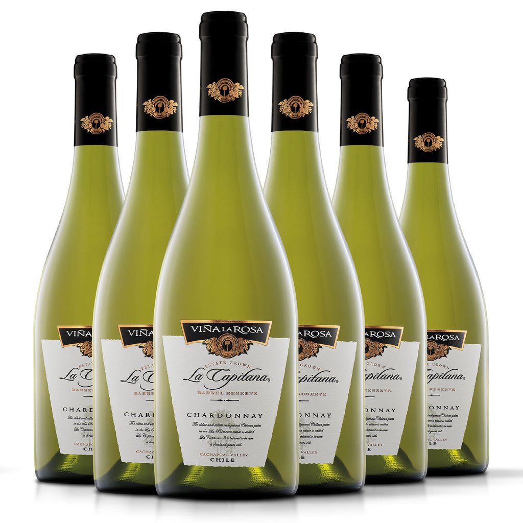 La Capitana Chardonnay (6 botellas 750ml)