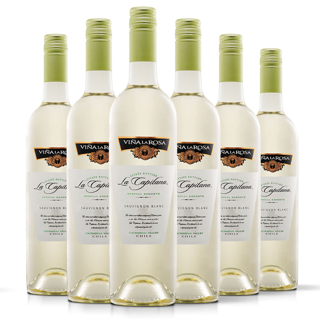 La Capitana Sauvignon Blanc (6 botellas 750ml)