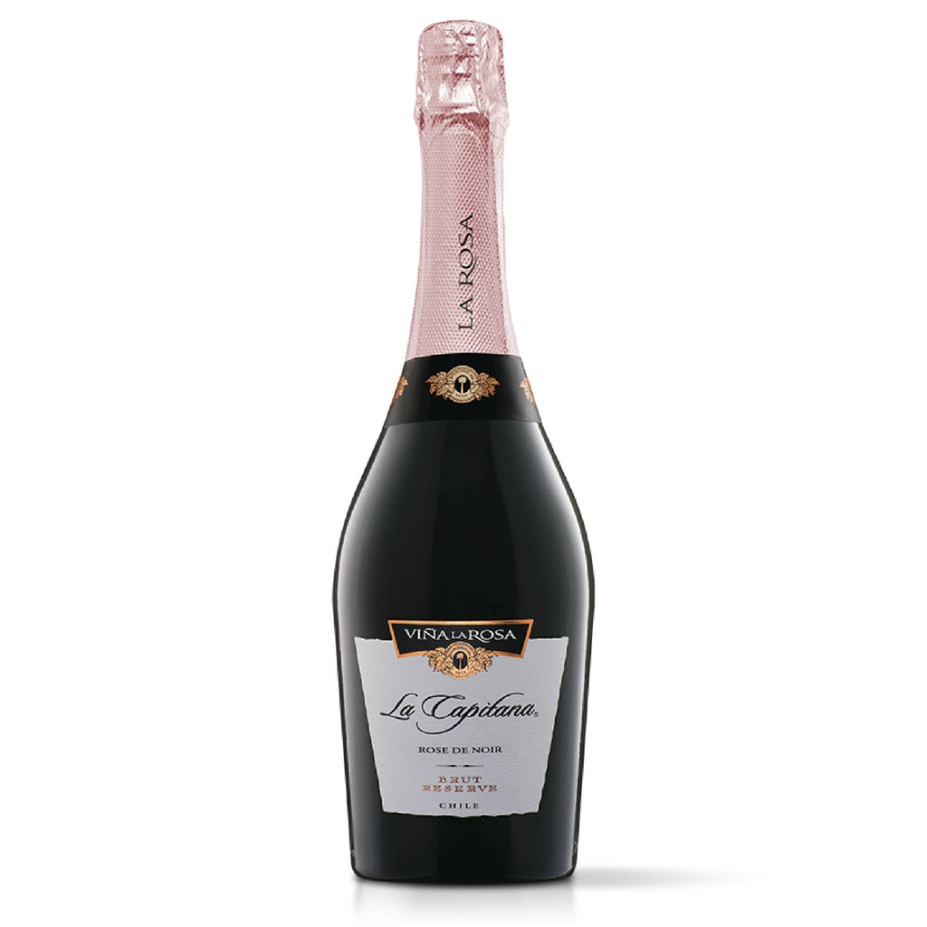 La Capitana Espumante Rose de Noir Brut Reserve (6 botellas 750ml)