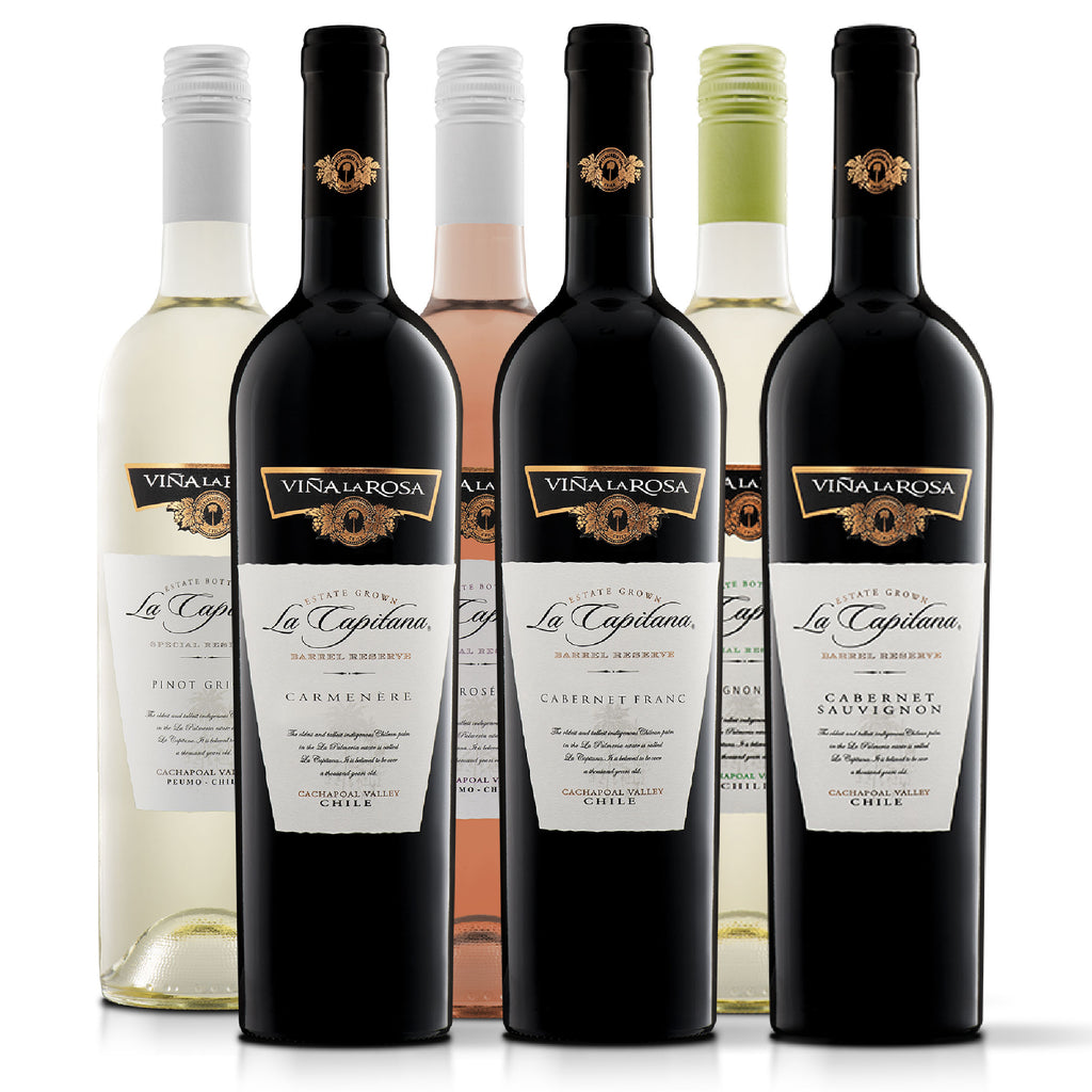 La Capitana Mix Full Variedades (6 botellas 750ml)