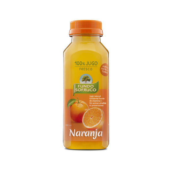 Jugo 100% Natural de Naranja 340 ml (12 Unidades)
