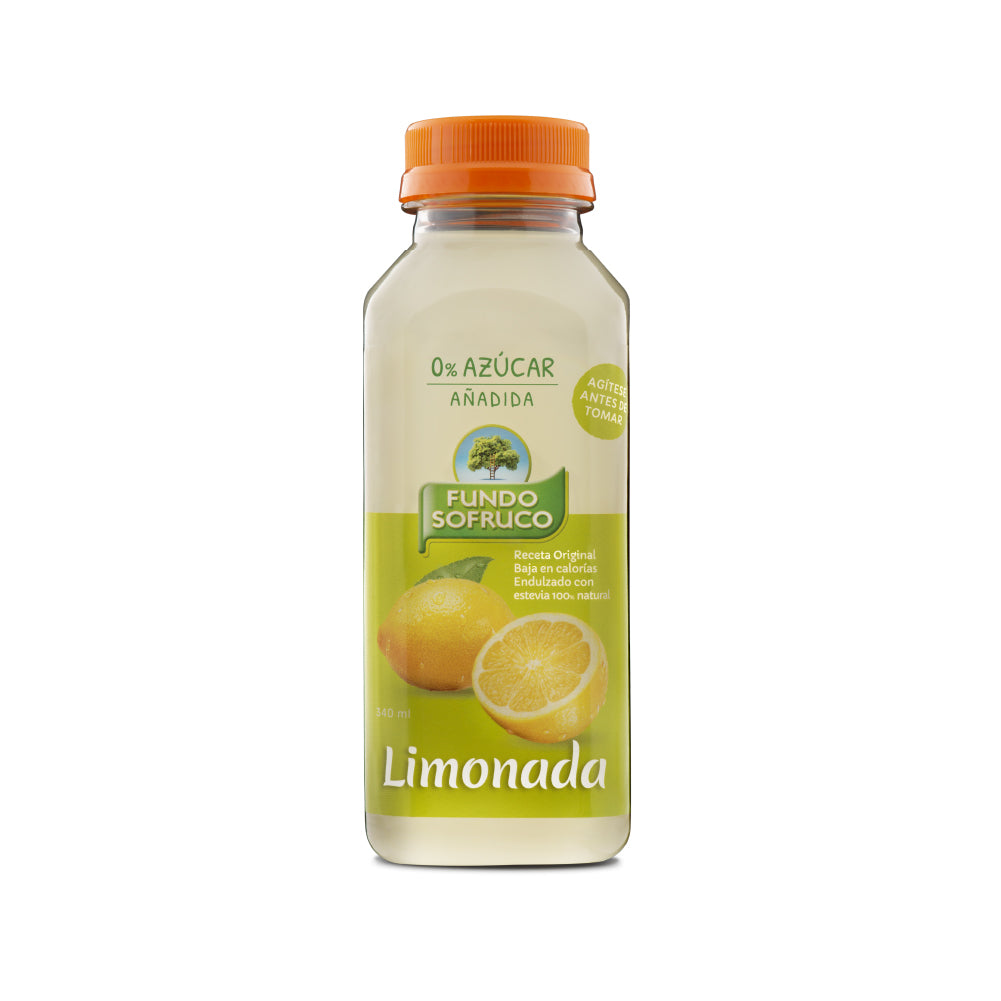 Limonada 100% Natural 340 ml (12 Unidades)