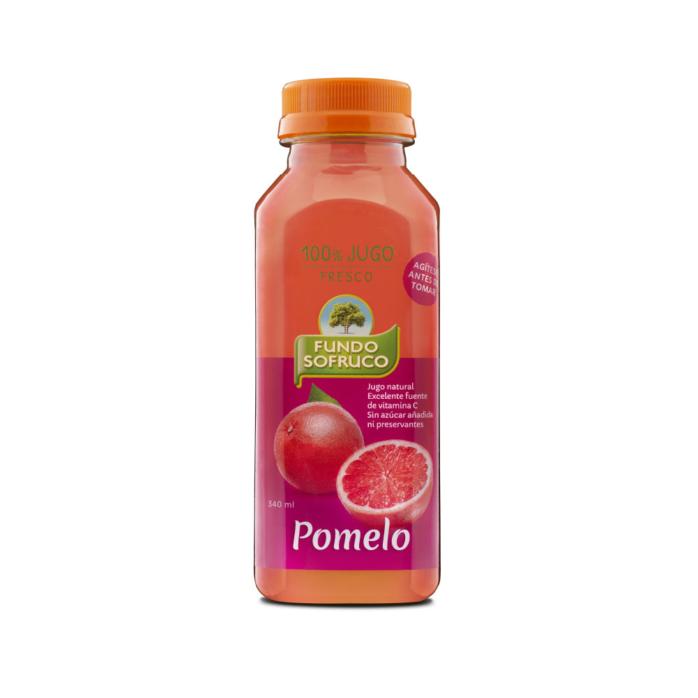 Jugo 100% Natural de Pomelo 340 ml (12 Unidades)