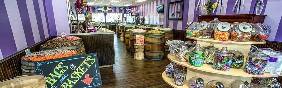 A family-run candy shop in Nederland, CO