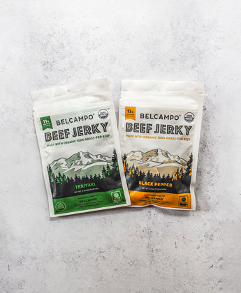 Organic Beef Jerky, Mixed 4 pack