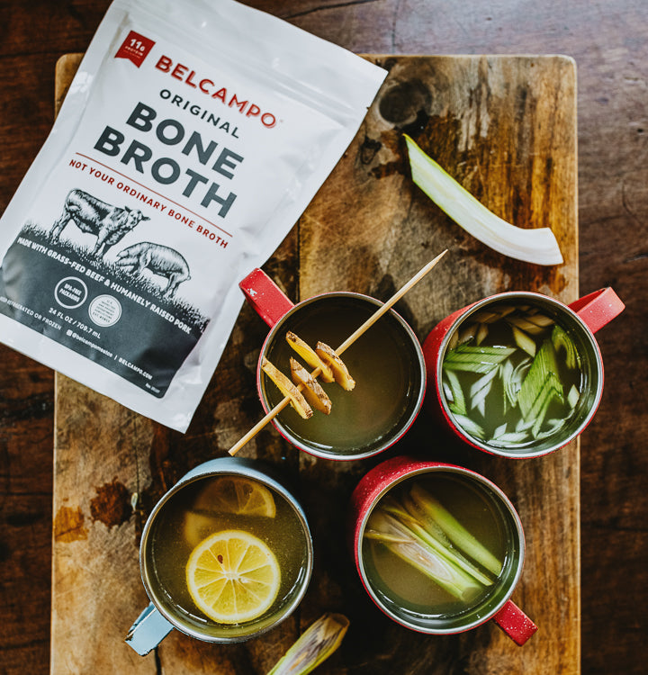 Original Bone Broth Pouches, 6 pack