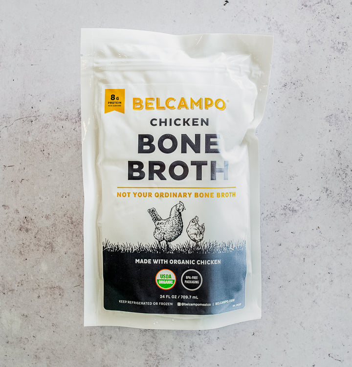 Organic Poultry Bone Broth Pouches, 6 pack